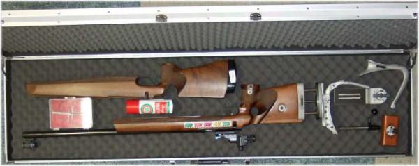 Langwaffenkoffer 157cm aus Winkelprofil Winkelprofilen