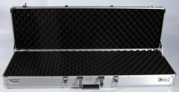 Koffer für kombinierte Waffen 100 x 30 x 11cm silber