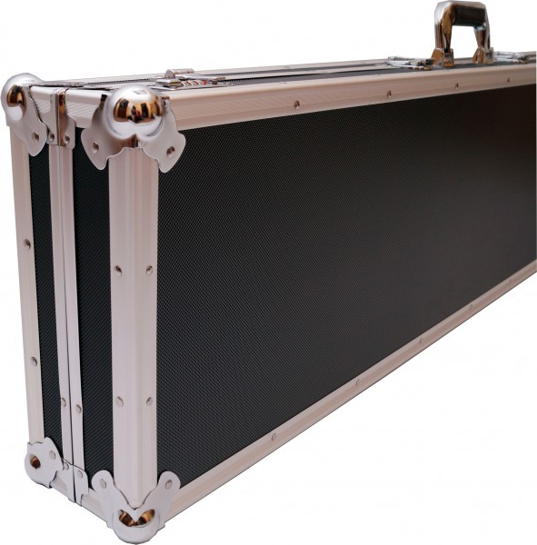 Winkelprofilkoffer 120x31cm schwarz
