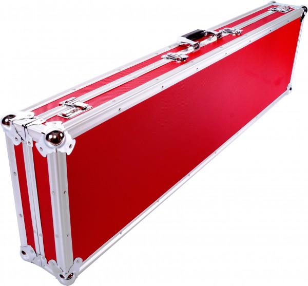 Winkelprofilkoffer 120x31cm rot