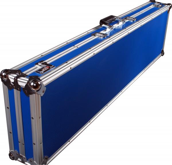 Winkelprofilkoffer 120x31cm blau
